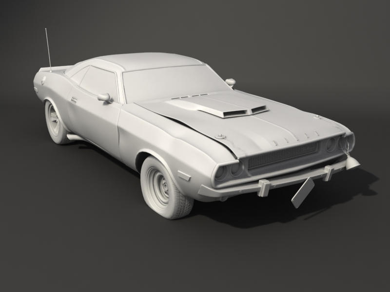 1970 challenger T A Busted WIP by Akuma1x
