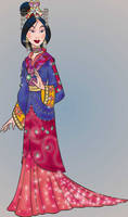 Mulan by virginie25