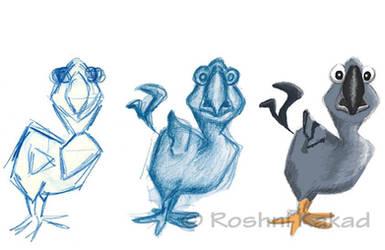 Fly..the last Dodo