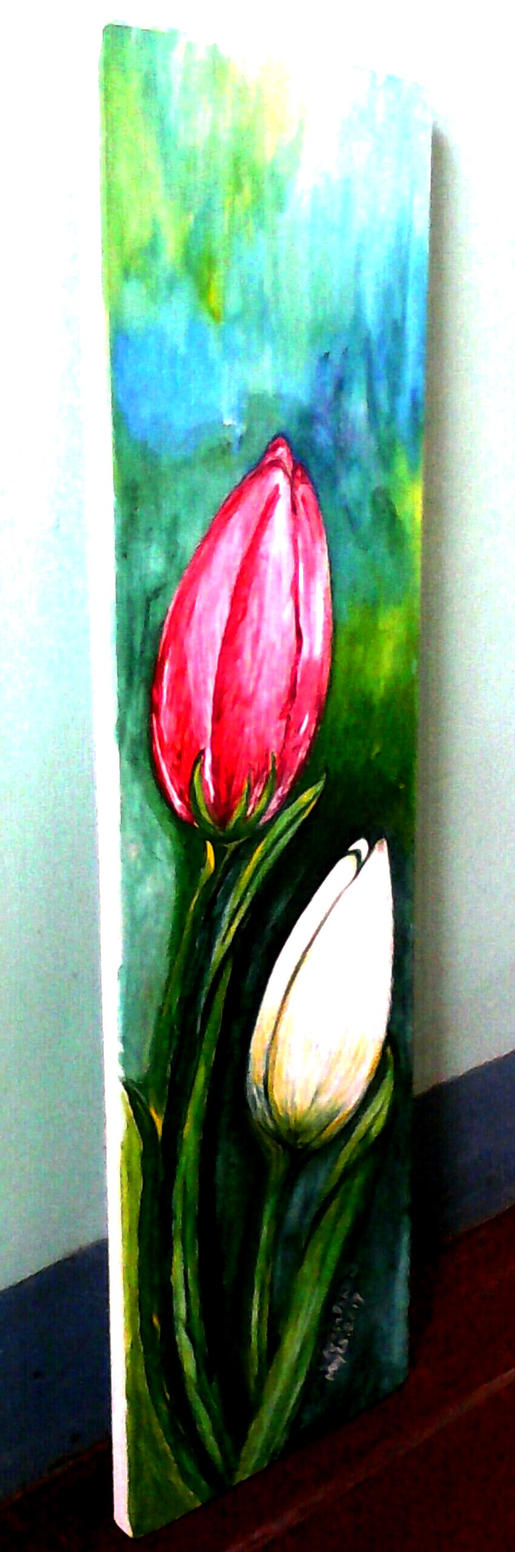 Latex paint on plyboard by tessanilo on DeviantArt