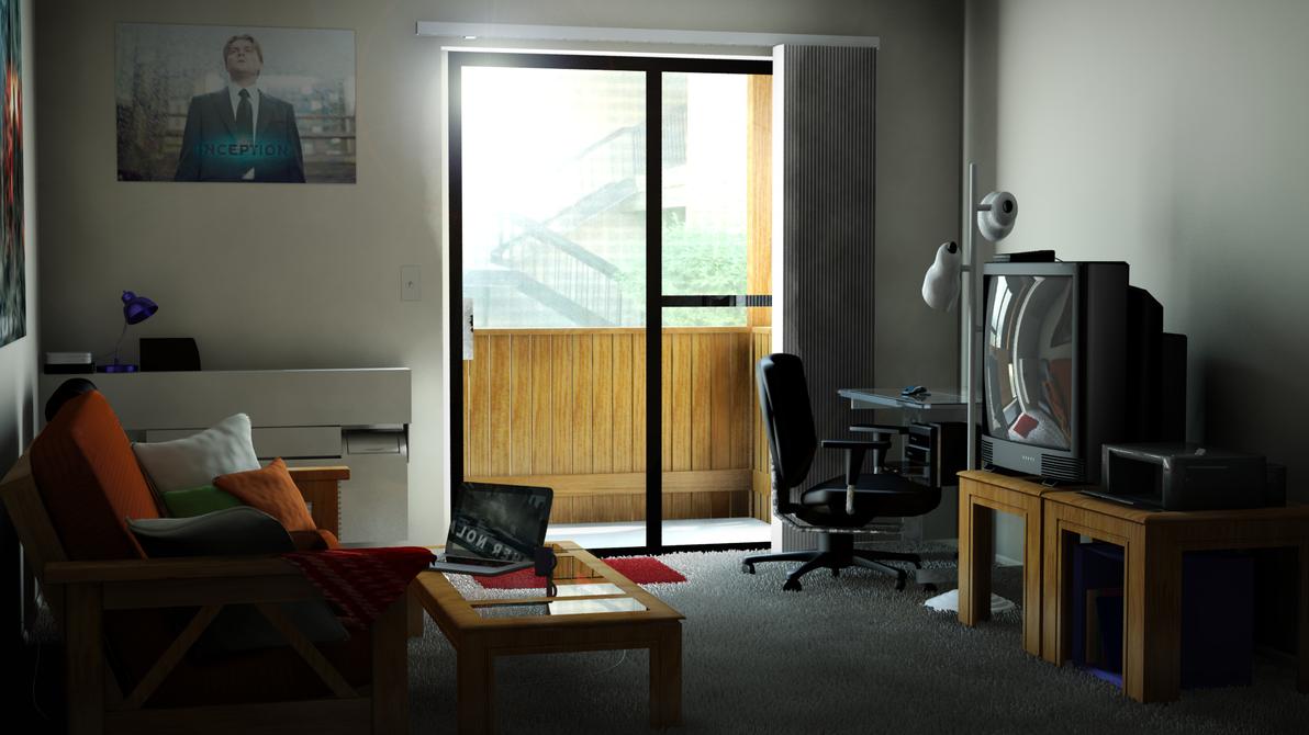 Virtual Living Room 2 0 By Nickdagamer On Deviantart