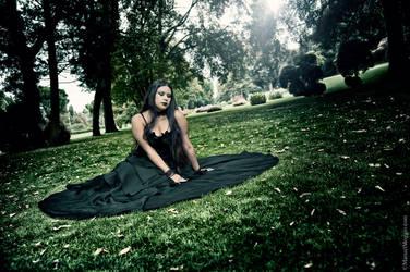 Here in Darkness I find myself - Gothic Princess by PrincessMiele