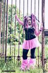 OPEN AIR PRISON | CYBER GOTH by PrincessMiele