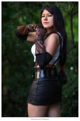 TIFA LOCKHART ~ Final Fantasy VII | A NICE WARMUP by PrincessMiele