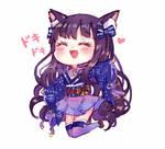 OC Hana [Colored sketch mini Chibi]