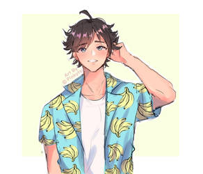 Banana Shirt Guy