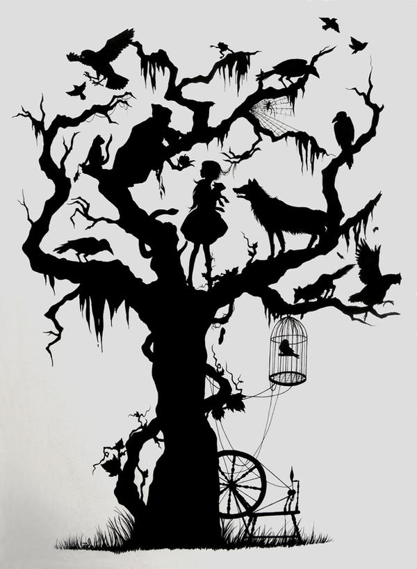 Fairytale Silhouette By ChloeNArt On DeviantArt