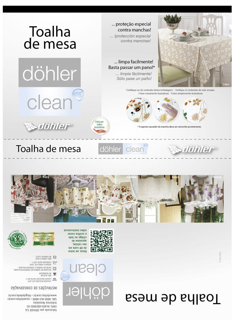 Dohler Clean Toalha de Mesa by masopias