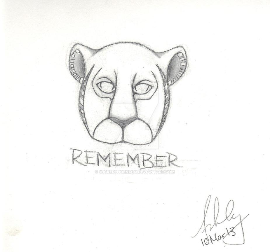 Lion King Tattoo Design By Wickedphoenix93 On Deviantart