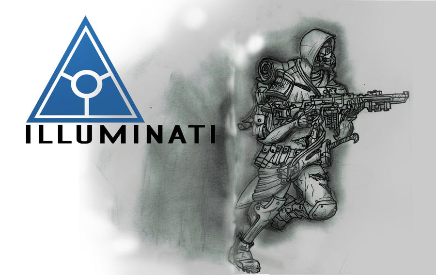 Illuminati Runner by Luckeux