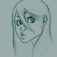 Gurl sketch 7 by Luckeux