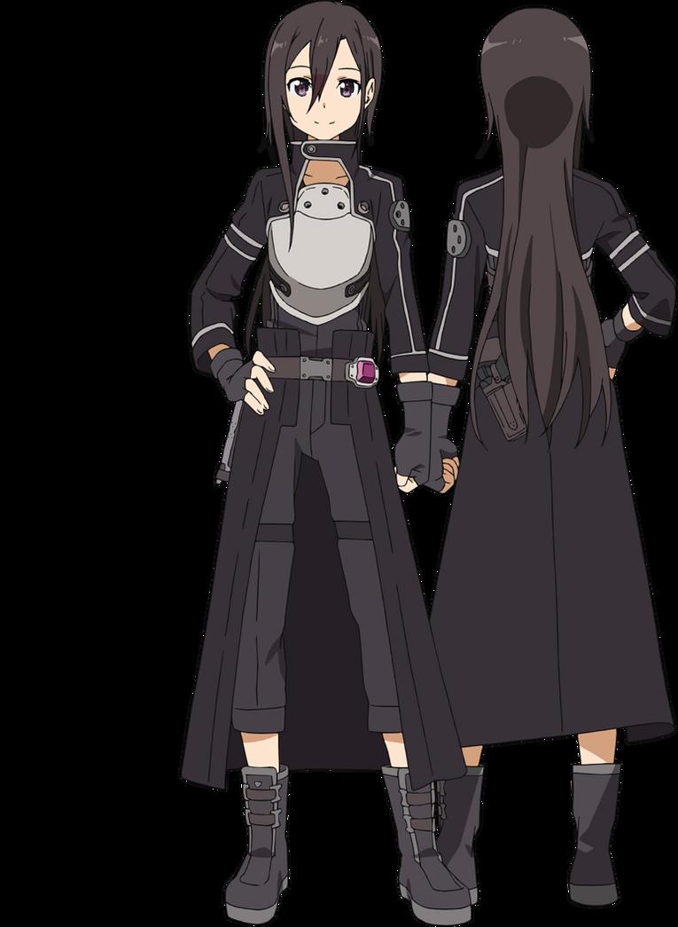 Kirito And Maybe GGO Character Sword Art Online New Serie