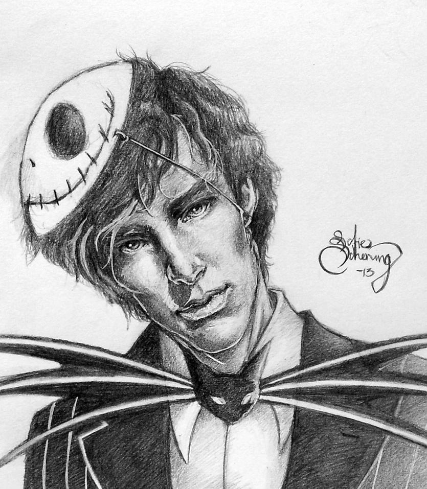 Sherlock Skellington woooooooo by Aku-Soku-San