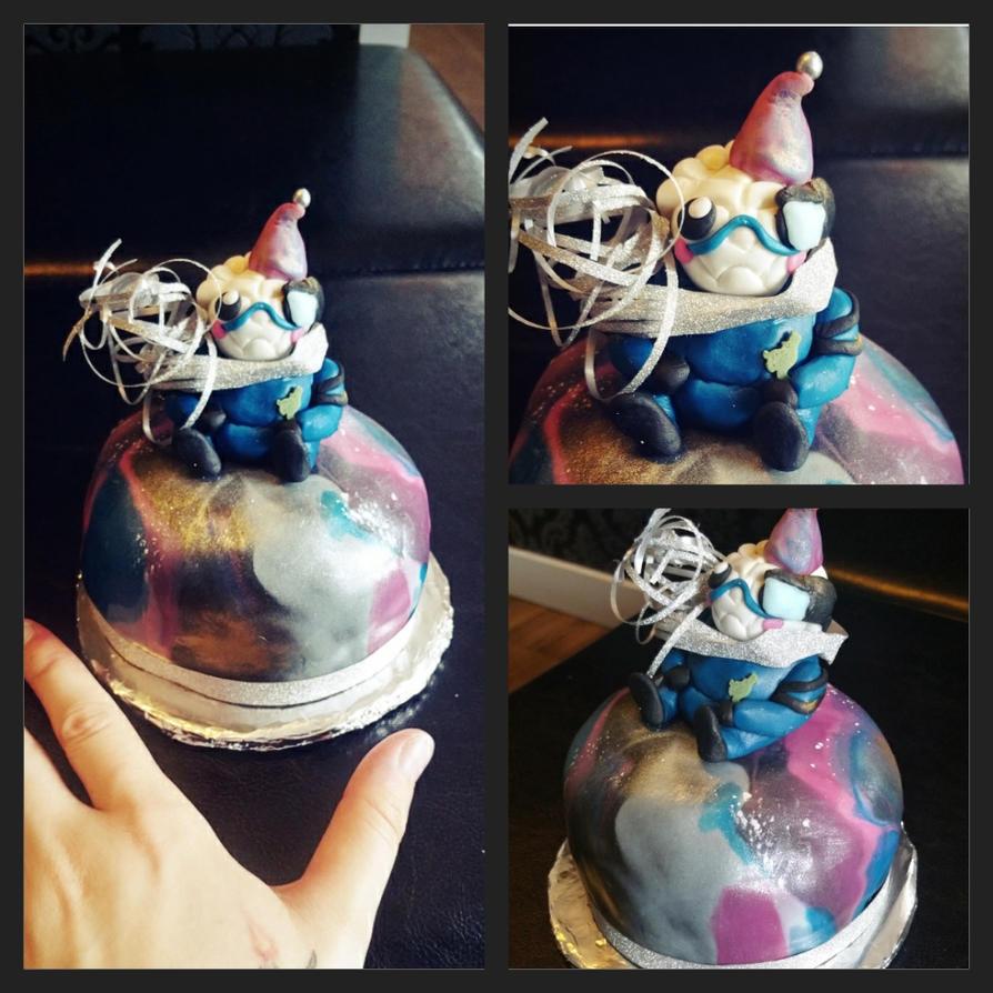 Garrus birthdaycake by Aku-Soku-San