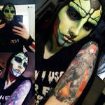 Mass Effect Thane Krios makeup