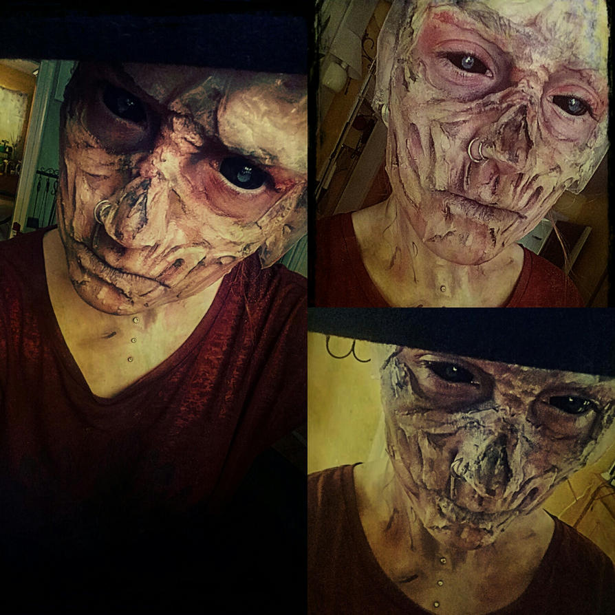 Fallout 4 John Hancock makeup by Aku-Soku-San