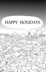 A Postal-pocalyptic Christmas Card by bhanson