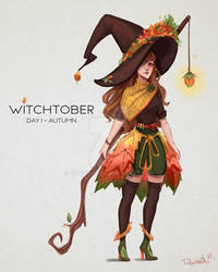 Witchtober - Day 1, Autumn
