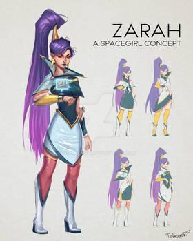 Zarah - original character concept