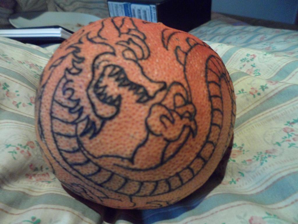 Practice tattoo #11 (Part 1) Asian dragon by Tarmiza