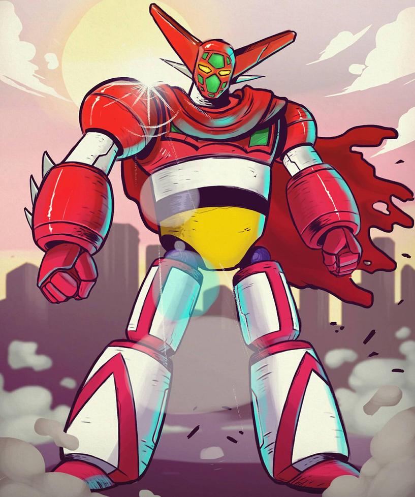 GETTER ROBO by onizord