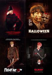 BTS x infamous horror villains by gr-rue