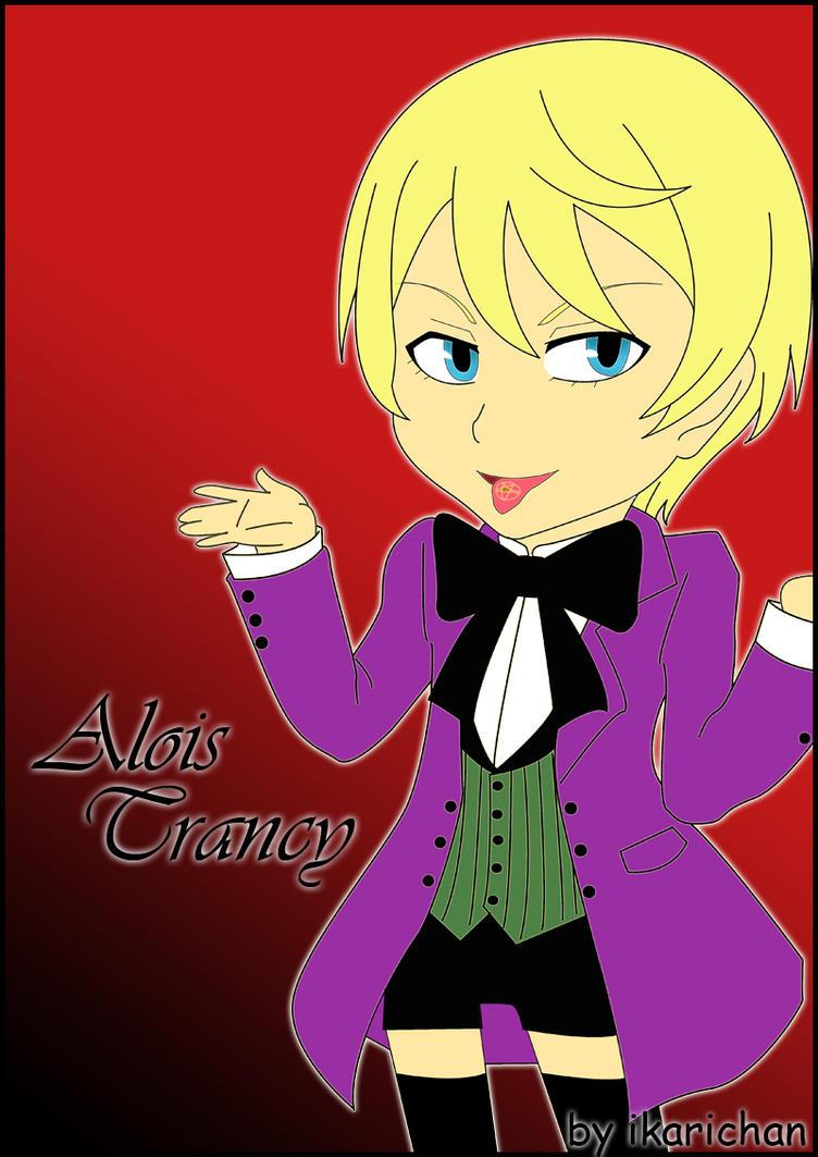 how to draw alois trancy