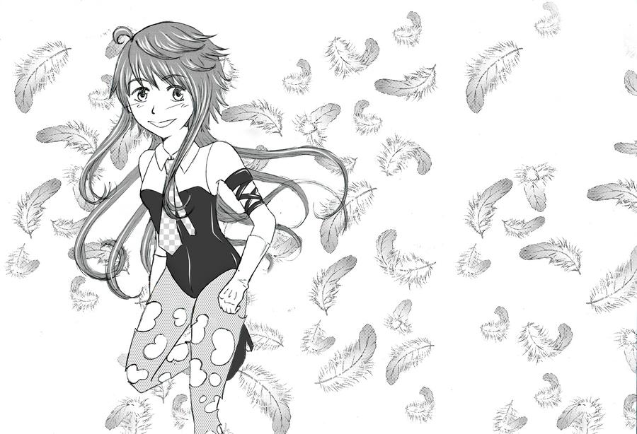 Ruki with screentones by ikarichan