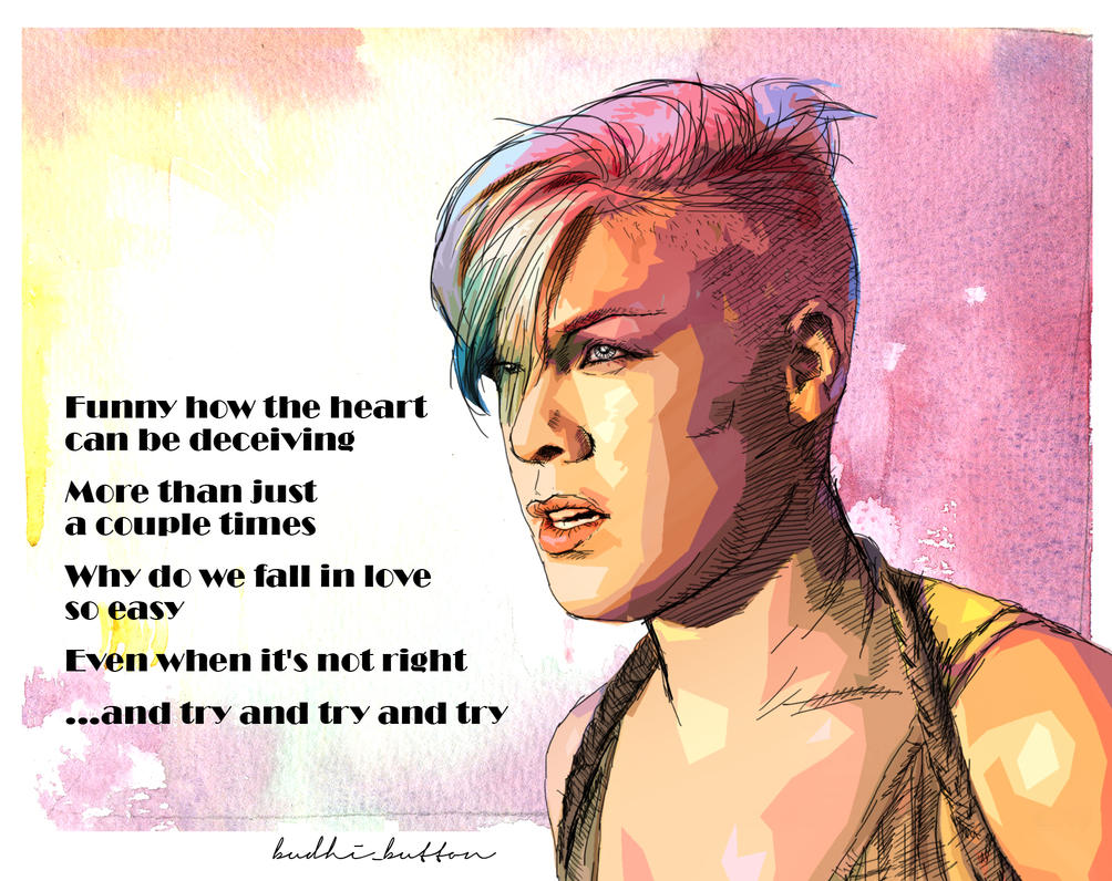 """Try"" is a song recorded by American singer/songwriter Pink, which she released as the second single from her sixth studio album, The Truth About Love (). Cover By. Try by Nicole Milik."
