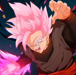 Goku Rose Black by WitcheressWoxy