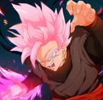 Goku Rose Black