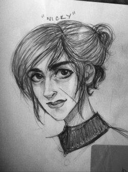 Sketch: Nicky by Kurooku