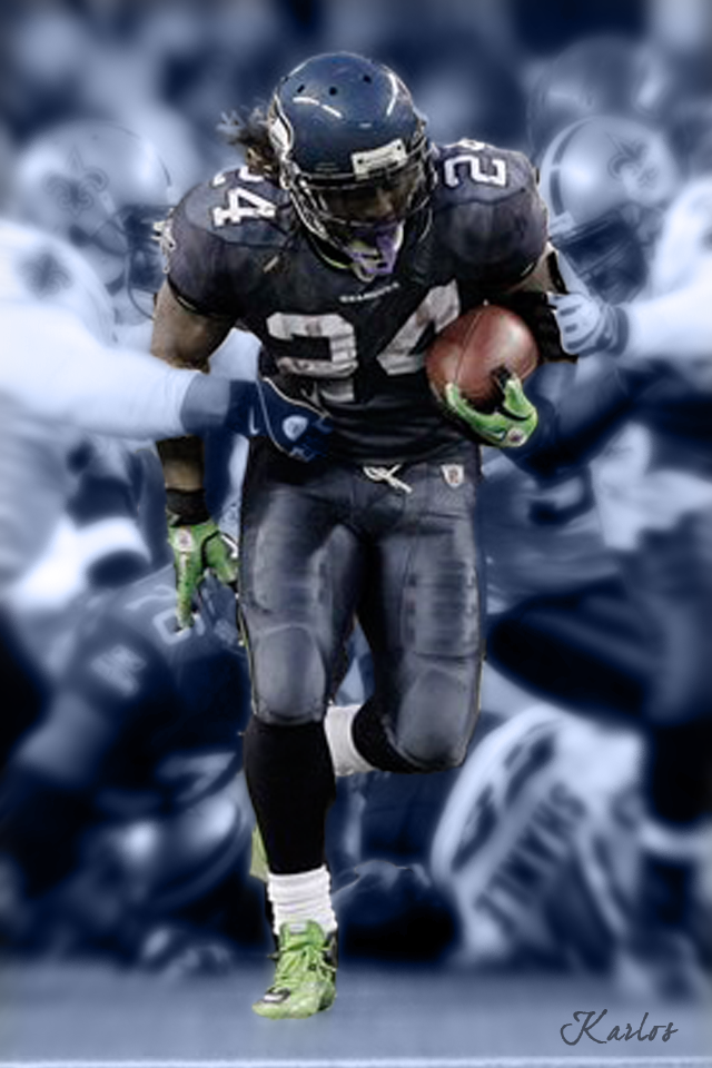 Marshawn Lynch Vs Saints By Karlos2121