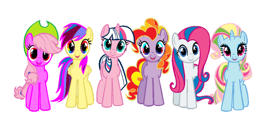 Mlp Fimoc Mane Six Adopatablecheap By Cottoncloudyfilly