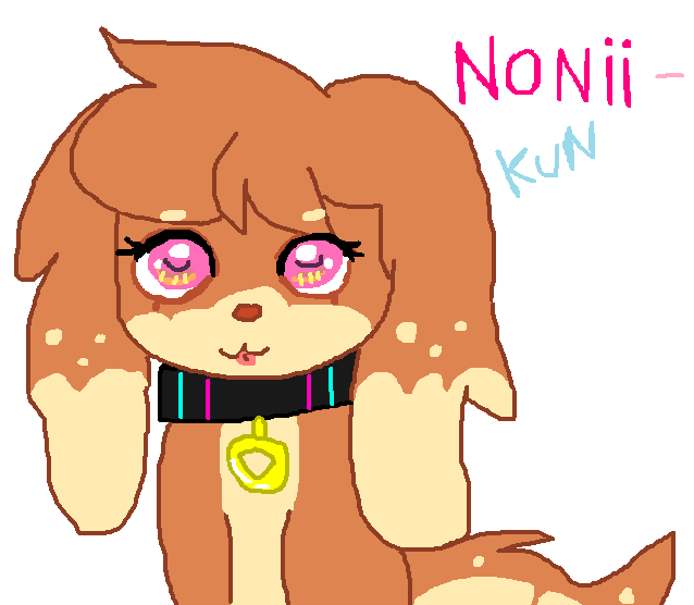 NoNii-kun by cottoncloudyfilly
