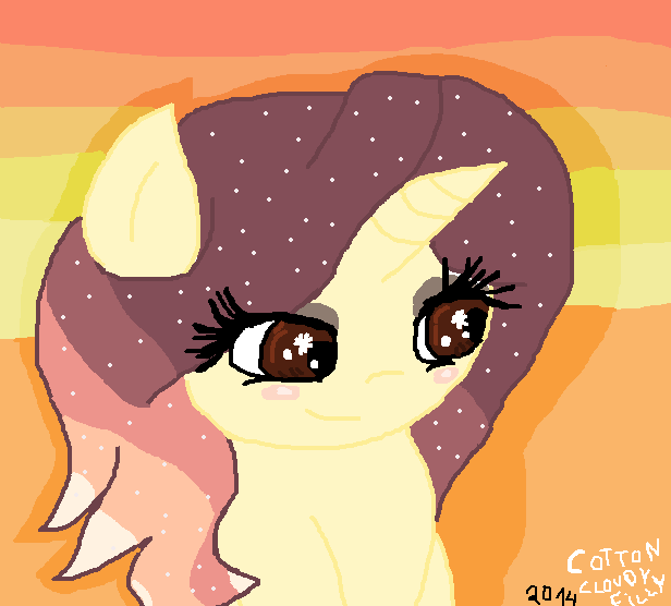 Crimson Sunset by cottoncloudyfilly