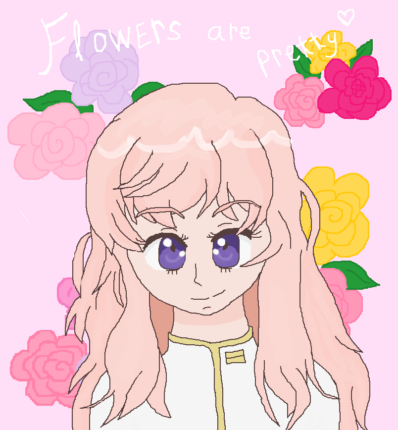 Akoya Gero:Flowers are pretty by cottoncloudyfilly
