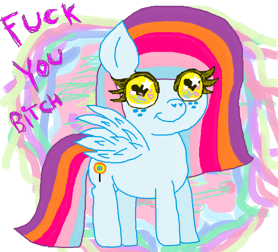 Dolly Baby has a  cute message for you by cottoncloudyfilly