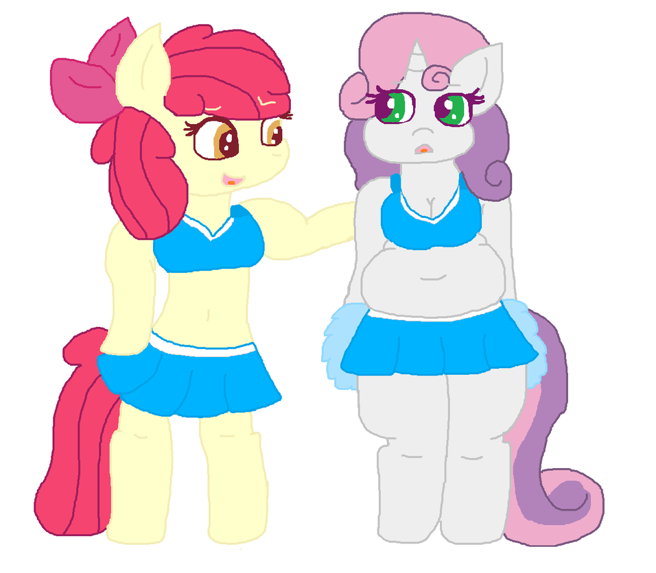 Cheerleaders by cottoncloudyfilly