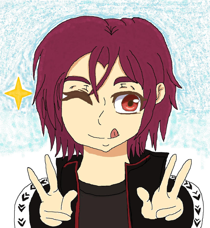 Happy(early) Birthday Rin Matsuoka by cottoncloudyfilly