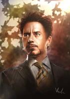 Tony Stark by HolyWiz