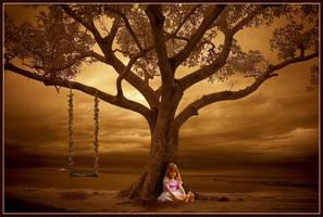 Autumn childhood by Paigesmum
