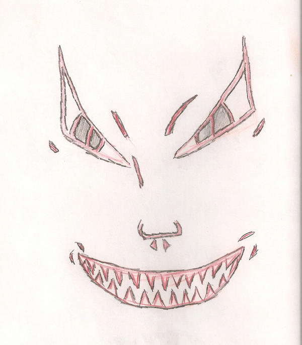Evil Face Cartoon style by Katsiscool on DeviantArt