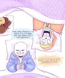 Go to sleep by chaoticshero