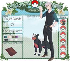 Trainer Card - Royce Gilande by chaoticshero