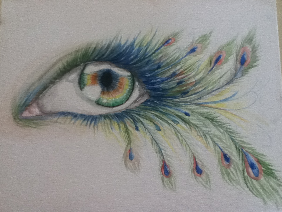 Peacock Eye by CookieBazey on DeviantArt