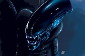 Alien by Ominaye