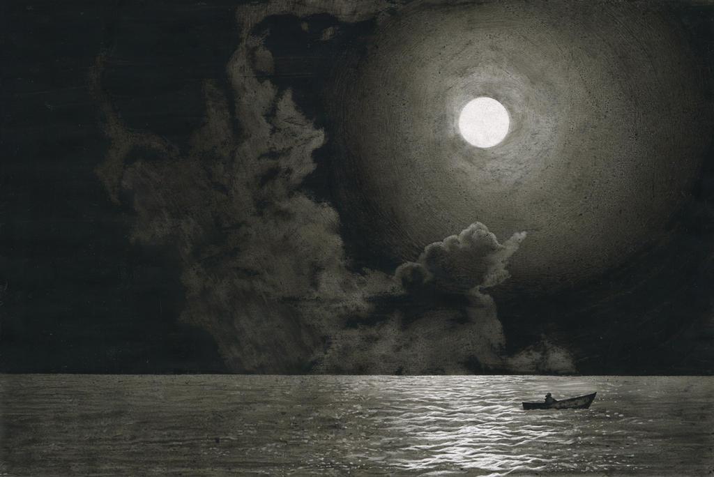 Image result for ernest hemingway the moon
