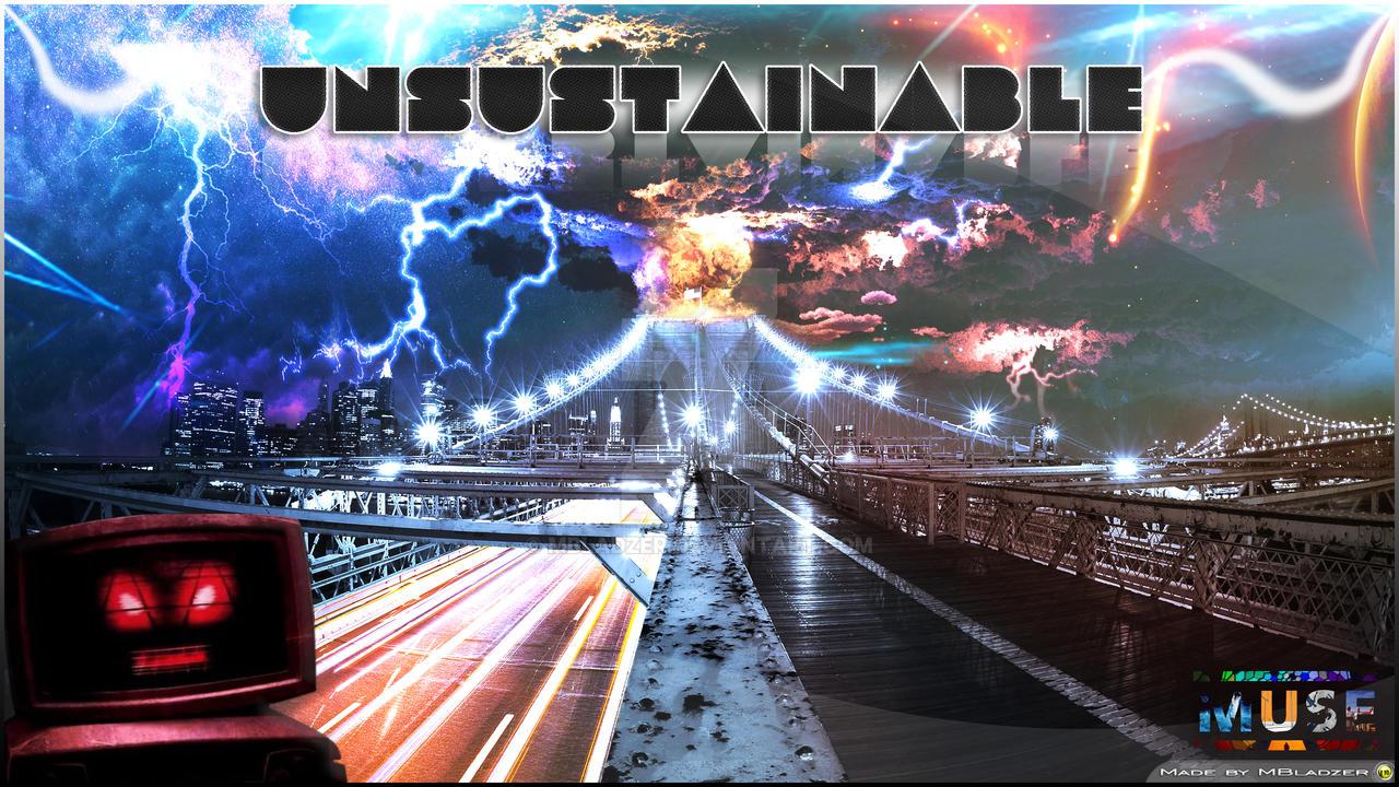 Muse - Unsustainable (HQlyricsPlus)
