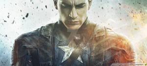Captain America Fire Wallpaper